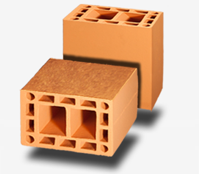 Bloco Cerâmico Estrutural 11,5x19x19