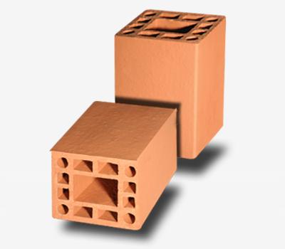 Bloco Cerâmico Estrutural 14x19x14