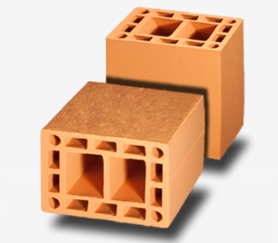 Bloco Cerâmico Estrutural 14x19x19