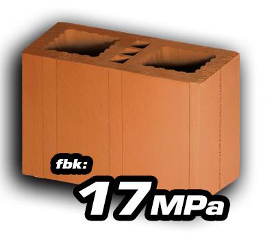 Bloco Cerâmico Estrutural 14x19x29 17 MPa